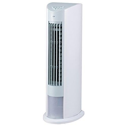 山善(YAMAZEN) 冷風扇 (押しボタンスイッチ)(風量3段階) ホワイトブルー FCT-D404(WA)
