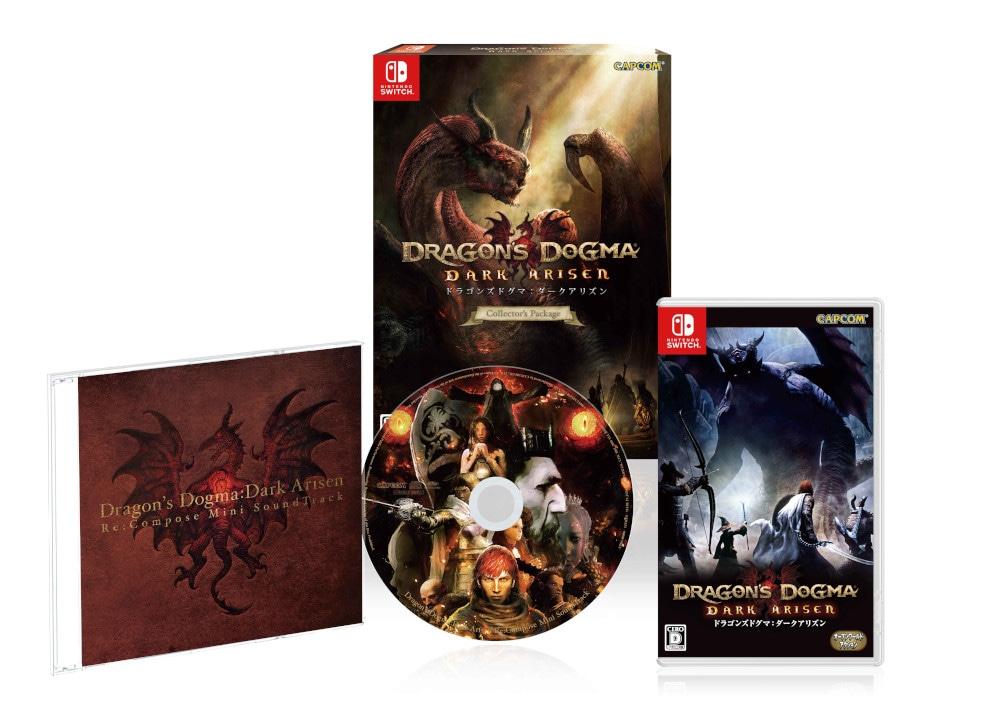 ドラゴンズドグマ:ダークアリズン コレクターズ・パッケージ [サウンドトラックCD同梱版] [Nintendo Switch]