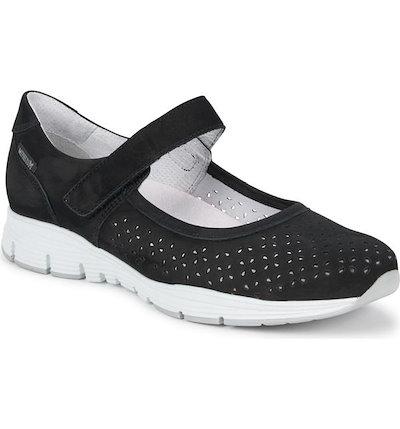 メフィスト レディース スニーカー シューズ Mephisto Yelina Perforated Mary Jane Sneaker (Women)