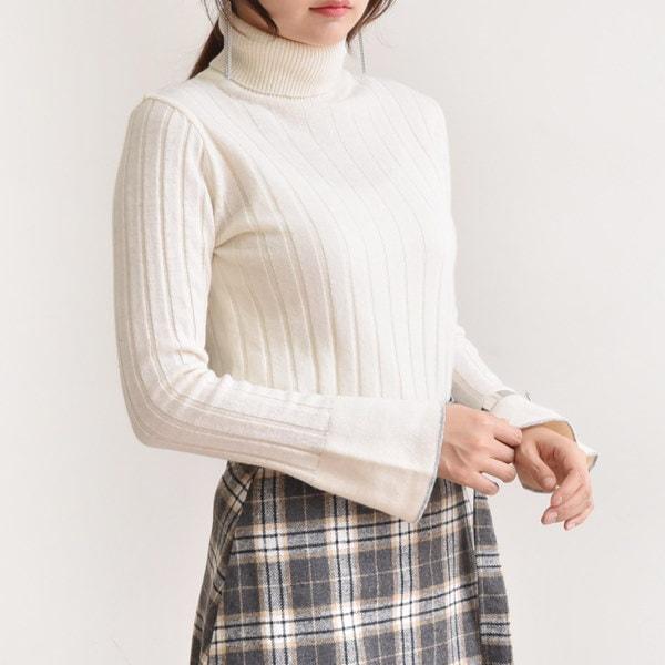 [送料無料]★4COLOR★小売ひらきカシミヤタートルネックニット(knit477)