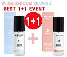 99.9%の抗菌、脱臭効果!1+1 [W.DRESSROOM]season2新ドレスリビングクリアー香水70ml リビングクリアー香水ホームseason2 香水
