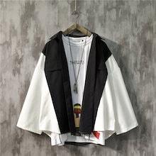 メンズファッション INS 人氣 日系 カーディガンゆったりレジャー コート 韓国ファッション