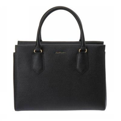 [JILLSTUART ACC] JABA7E034BK Black leather tote bag