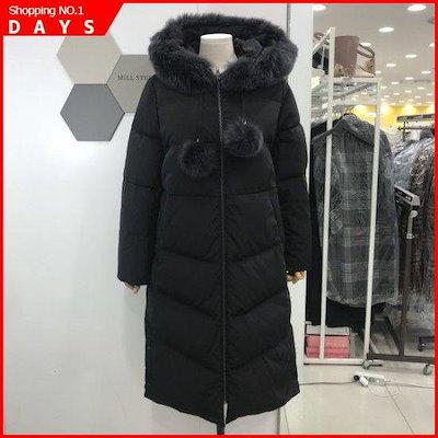 [ミルステュディオ]滴狐ダウン(LKBPDC101BK5/ブラック) / パディング/ダウンジャンパー/ 韓国ファッション