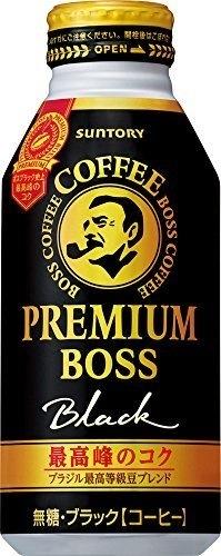 プレミアム ボス ブラック 390g ×24缶