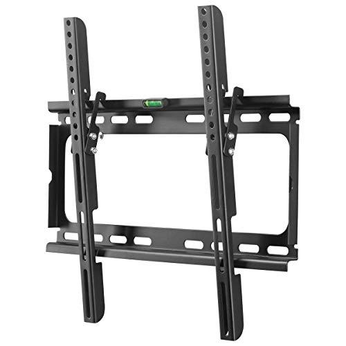 Suptek テレビ壁掛け金具 上下調節式 26-55インチ対応 LCDLED液晶テレビスタンド 15°角度調節可能 耐荷重45kg VESA規格400×400 mm MT4204