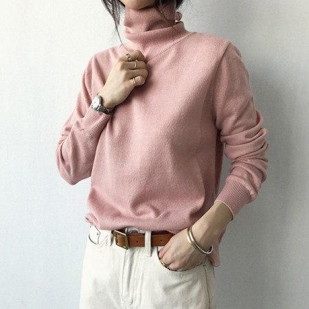 Thompson Polar Knit Korean fashion style