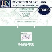 2次販売 [送料無料] SEVENTEEN Photo Set Seventeen CATAT LAND 2019 SVT 3rd FAN MEETING official Goods 予約