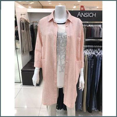 [アンジク]Wアンジクシャツ型ジャケットDB3BL5110 /テーラードジャケット/ 韓国ファッション