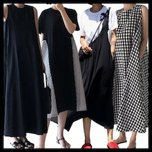 国内発送、送料無料、韓国ファッション、超低価パルス販売、自社設計生産、欧米風春の新しいスタイル、カジュアルTシャツ、カジュアルシャツ、ワンピース、カジュアルパンツ、ロングスカート、パンタロン、ボーダ