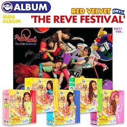 【ポスター(丸めて)付、即日発送】【 Day 1 Ver.(カバーランダム) / Red Velvet ミニアルバム 'The ReVe Festival' Day1 】