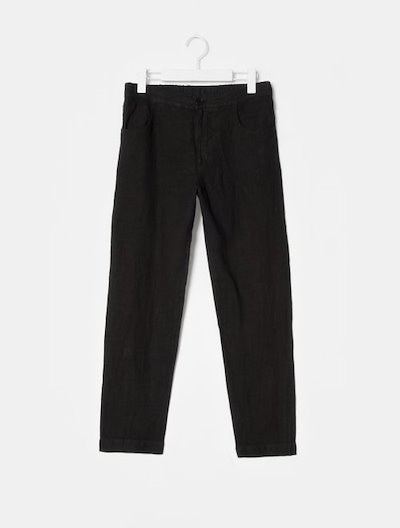 Barena Venezia Linen Bending Pants - Black (Women)