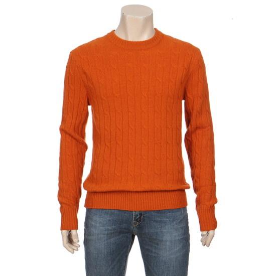 フー・アー・ユーWOOL、ケーブルプルオーバー16O216W1557 ニット/セーター/ニット/韓国ファッション