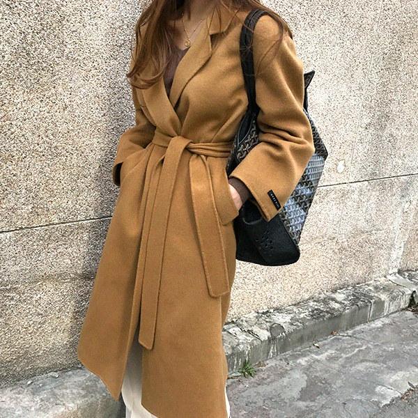 [送料無料]★韓国ファッション通販業界1位 『Naning9』★オーチャードハンドメードコート/ おしゃれなシルエットのファッションコーデー提案!ハイクォリティー/韓国ファッション/オフィスルック