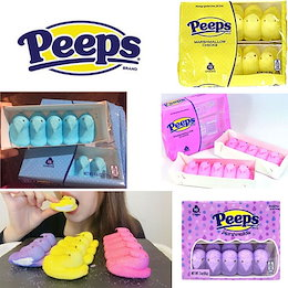 ★ [ASMR×Peeps] 💛【ピープス】 ★Youtubeで話題 🎀咀嚼音 Peeps Marshmallow ひよこ ヒヨコ マシュマロ アメリカ✨『送料無料』 🌈韓国直送  ♪