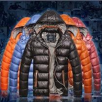 送料無料 5Color 7Size 中綿ジャケット メンズ アウター フードジャケット ボリュームネック 軽量 防寒 無地 あったか 暖かい ジャンパー ジャンバー 大きいサイズ メンズファッション