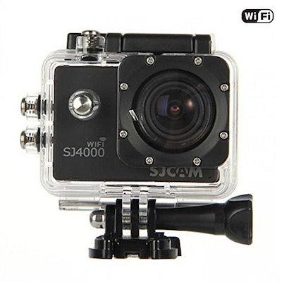 SJCAM SJ4000-WIFI スポーツアクションカメラ 1080P 12MP HD動画対応 30M防水