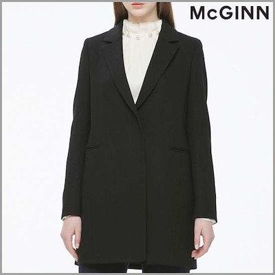 [つけた][メギンナイッブリッジ]小売配色・テーラードロングジャケットMH1WJ263 /テーラードジャケット/ 韓国ファッション