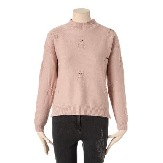 タプゴルミミズクラウンドニットTIZ1SW608F042 ニット/セーター/ニット/韓国ファッション