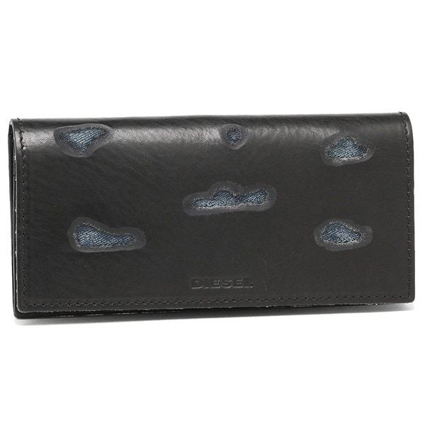 DIESEL 財布 ディーゼル X03807 PS978 H3820 メンズ 長財布 ブラック