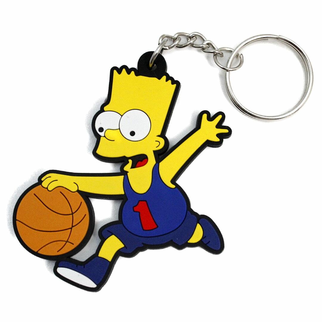 The Simpsonsラバー キーホルダー シンプソンズ Keyholder バート 【クリアランスセール開催中 全品ポイント2倍 割引クーポン発行】