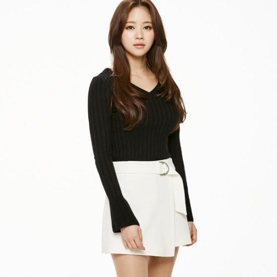 のエゴイストゴルジVネクPOEH1KL264 ニット/セーター/韓国ファッション