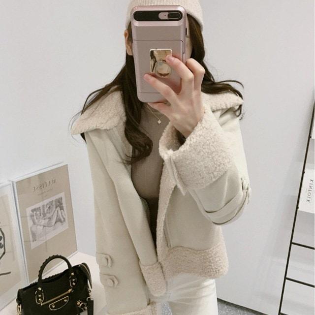 所蔵価値100%フリースマスタングkorean fashion style