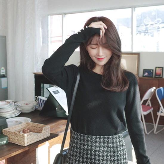 ミミ・アンド・ディディsession・ニット8061 ニット/セーター/ニット/韓国ファッション