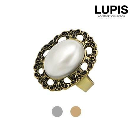Qoo10パールデザインリング(2色あり)【リング・レディース・指輪・パール・真珠・デザイン・激安・ルピス・LUPIS・セール】