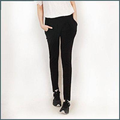 [Hスタイル]Hスタイル(GD)民間資本・パンツ/ビッグサイズ/女トレーニングパンツ /トレーニング下/ スウェットパンツ/韓国ファッション