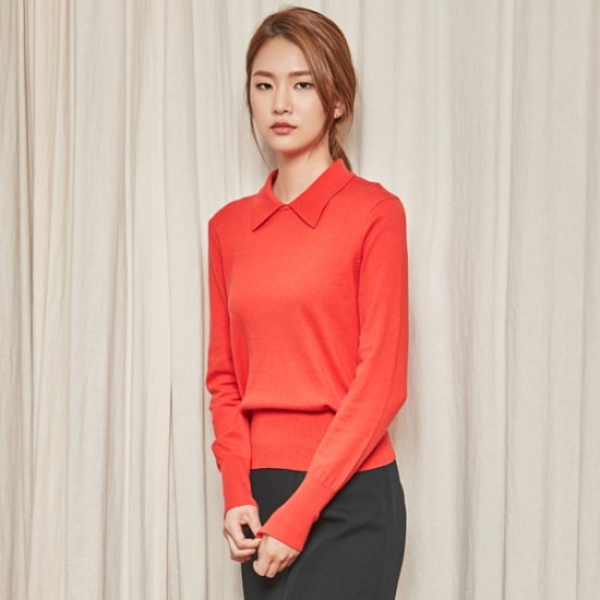 ナインNAINカジュアルニートT3687 ニット/セーター/韓国ファッション