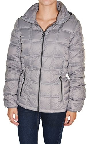 Gerry Womens Packable Down Coat (Zinc, Large)