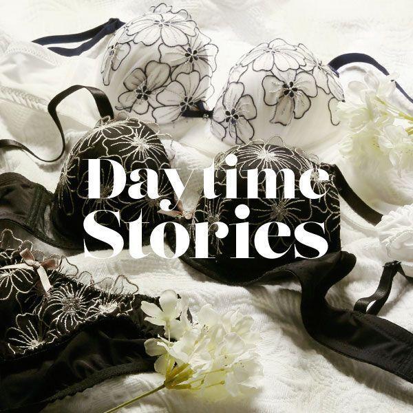 Daytime Stories あたらしい、花と過ごす1日 ブラジャー ショーツ セット BCDEF(C2220CR001)