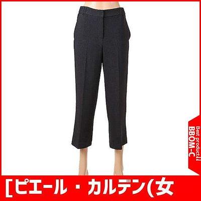 [ピエール・カルデン(女性)]の部分バンディング、スーツのパンツCI11PB1240 /パンツ/面パンツ/韓国ファッション