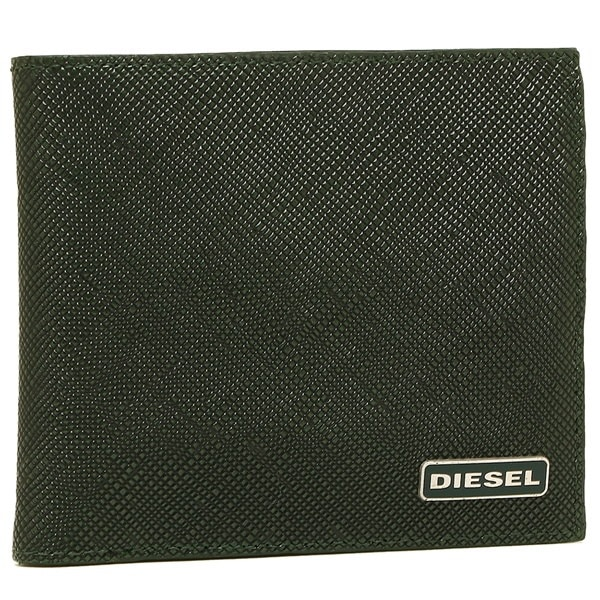 DIESEL 財布 ディーゼル X03909 P0517 H5429 メンズ 二つ折り財布 グリーン