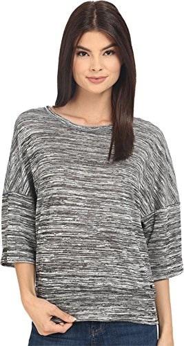 Bench Womens Veer Overhead Pullover Sweatshirt Jet Black T-Shirt MD