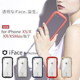 18a5d9a3c7 iFace Reflection [iPhone8/7/XR/XS/X/XSMaX専用]iphoneケース iFace Reflection 強化ガラス  クリアケース