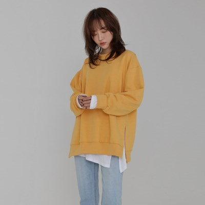 [韓国直送] 【モレン] rala color sweat shirt(5colors)