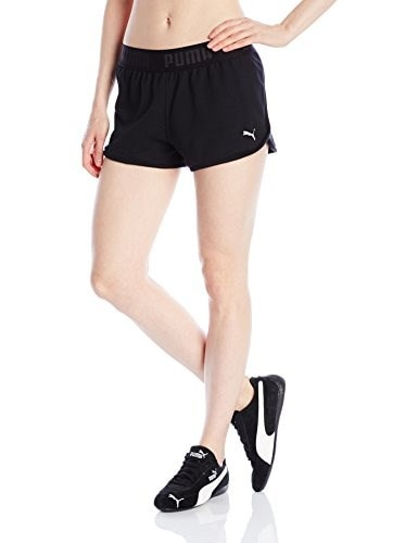 PUMA Womens Active Forever Shorts W, Black, X-Small