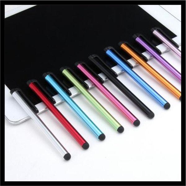 細めタッチペン 10色 各種スマホ、タブレットスマートフォン ボールペンiPod touch Xperia タブレット Tab用 2本以上ご購入の場合、ランダムで一本プレゼント!