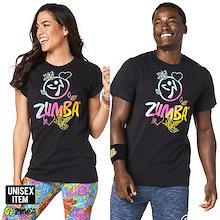 新作ズンバ ヨガウェア エアロビクスウェア ランニングウェア ダンス衣装 ZUMBAウェア男女兼用 運動用 トップス Z3T142
