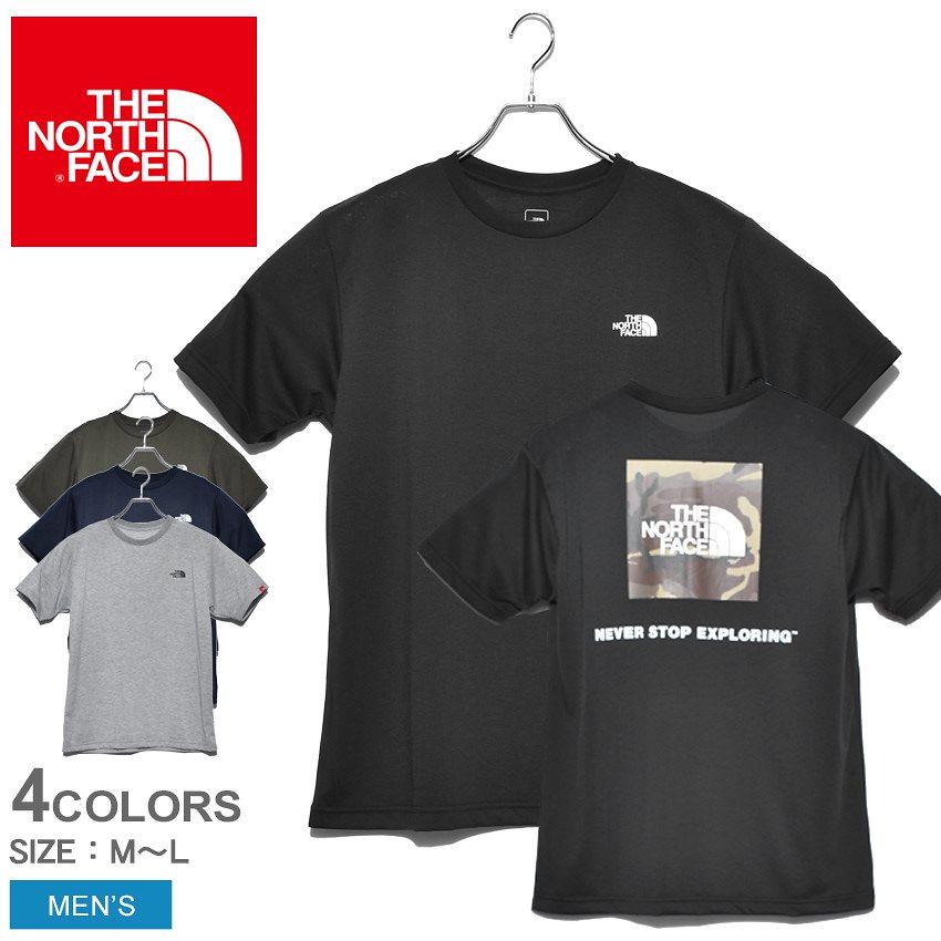 THE NORTH FACE ザ ノースフェイス 半袖Tシャツ ショートスリーブロゴカモティー NT32035 メンズ 半袖 プリント カモ 迷彩