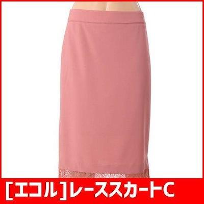 [エコル]レーススカートC88WSA001Z /スカート/Hラインスカート/ 韓国ファッション