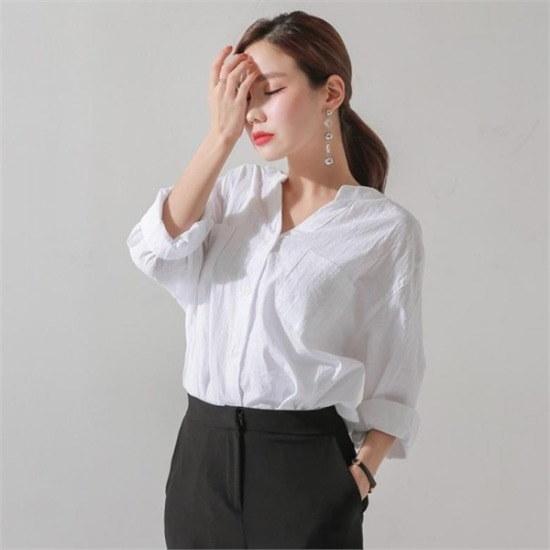 ジェイ・スタイル行き来するようにジェイ・スタイルビックサイズジェイ・スタイルプレチュベーシックシャツ ニット/セーター/ニット/韓国ファッ㠼/td>