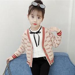 0bf7dc5afcff7 子供服 ニットカーディガン ショート丈 ボレロ トップス 羽織る カジュアル 着やすい セーター 人気 新作 女の子