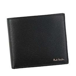 ポール・スミス PAUL SMITH / BILLFOLD WALLET AND COIN 二つ折財布 小銭入付 #AUPC4833 W905 79 BK