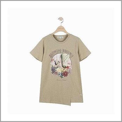 [ソスデイアイルランド][Thursday Island]T194MTS245W切開ポイントティーシャツ /ティーシャツ / ソリッ/ド/無知ティーシャツ / 韓国ファッション