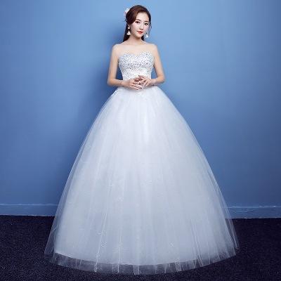 fe34a7714da54 花嫁ドレス 発表会 二次会 結婚式 ウエディングドレス シンプルドレスパーティードレス 披露宴 演奏会
