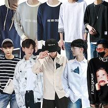 2018 秋冬人気商品 韓国 ファッション メンズ ニットセーター流行 男女兼用 長袖 シンプル カジュアル トップス 上質