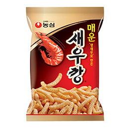 『農心』 辛口 セウカン|韓国エビセン(90g) ノンシム NONGSHIM スナック 韓国お菓子